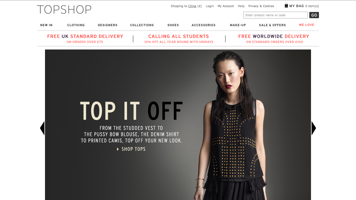 topshop marketing strategies Why is burberry's digital strategy so good  here at parallax,  let's take a look at why their digital marketing and branding strategy is so good.